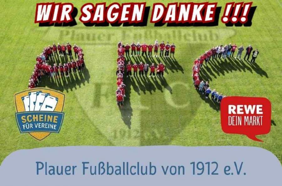 """Bild der Meldung: Verein / WIR SAGEN DANKE !!! """"Scheine für Vereine"""""""