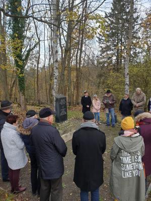 Vorschaubild zur Meldung: Gedenkfeier anlässlich des 81. Jahrestags der Reichspogromnacht