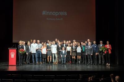 Preisverleihung Innovationspreis Brandenburg 2019