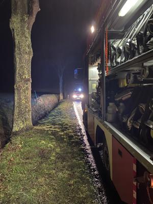 Foto zur Meldung: Verkehrsunsfall bei Mittelrode
