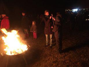 Vorschaubild zur Meldung: Weihnachtsbaumverbrennung 2020