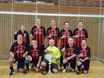 Foto zur Meldung: Unsere Ü 50 Fußballer wurden Hallen-Kreismeister in Lübbenau!