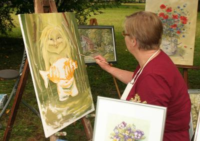 Foto zu Meldung: Wassermann, Irrlicht und wendische Großmutter