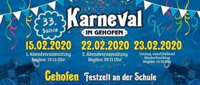 Karneval in Gehofen