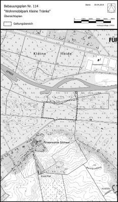 Übersichtsplan zur Lage des Plangebietes