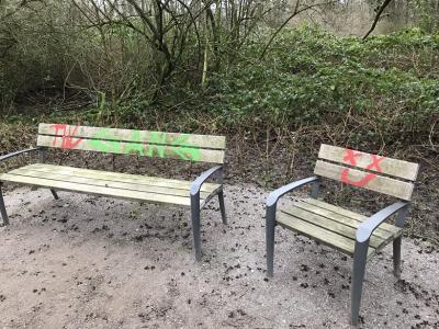 Foto zur Meldung: Sachbeschädigung im Bürgerpark