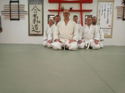 Foto zur Meldung: 200 Ikkyo zum Aikido-Jahresauftakt