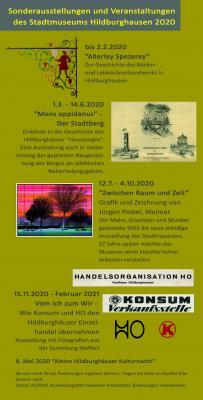 Foto zur Meldung: Ausstellungsplan 2020