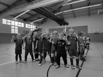 Foto zur Meldung: Hallenkreismeisterschaftsendrunde G-Junioren