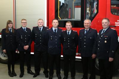 Vorschaubild zur Meldung: Feuerwehr Colnrade blickt auf ein arbeitsreiches Jahr zurück