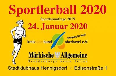 Sportlerball 2020