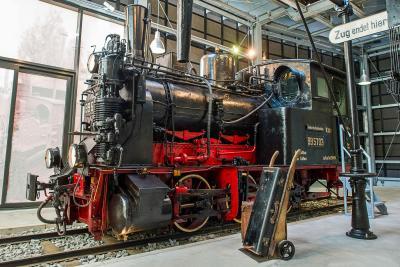 Die Spreewaldbahn im Spreewaldmuseum - Foto: Museum OSL
