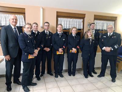 Vorschaubild zur Meldung: Freiwillige Feuerwehr Steinwand hielt Jahresrückblick