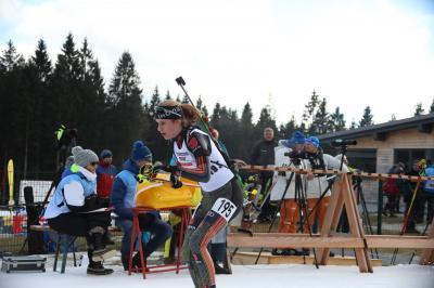 Emilie Behringer wurde für die Jugend-Europameisterschaft der Biathleten in Lenzerheide nominiert - Foto:  Hahne