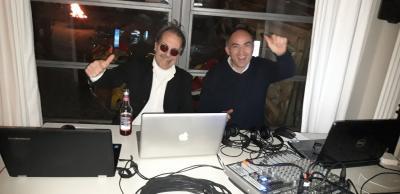 DJ Martin und DJ Max sorgten für gute Laune
