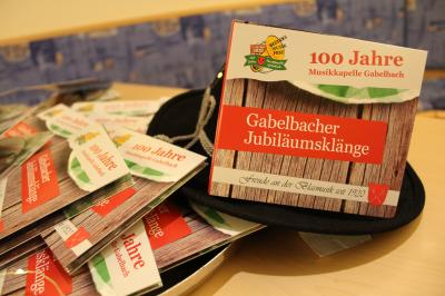 CD 'Gabelbacher Jubiläumsklänge '