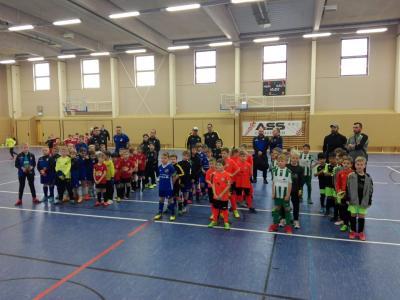 Foto zur Meldung: Fußball: F - Junioren auf Platz 4 in Großräschen