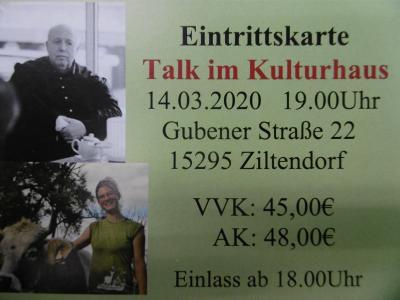 """Vorschaubild zur Meldung: Kartenvorverkauf zum """"Talk im Kulturhaus"""" mit Reiner (Calli) Calmund"""