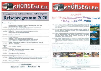 Vorschaubild zur Meldung: Reiseprogramm Seniorenservice Kaltennordheim/Kaltenlengsfeld 2020