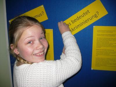 Vorschaubild zur Meldung: Schülervertretung bahnt den Weg zur Courage-Schule