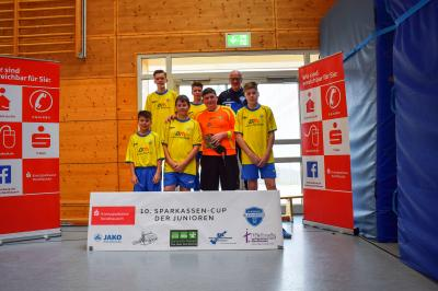 Foto zur Meldung: Turniereinschätzung C-Jugend Bleicherode II, Sparkassen-Cup