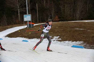 Emilie Behringer hat mit der Jugendstaffel des DSV im Rennen über 3 x 6 Kilometer die Bronzemedaille gewonnen - Foto:  Hahne