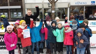 """Vorschaubild zur Meldung: 3. Platz beim Malwettbewerb der """"Eiszeit"""""""