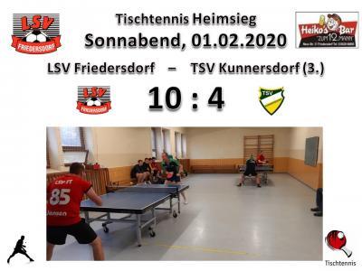 Vorschaubild zur Meldung: Tischtennisjungs besiegen den TSV Kunnersdorf mit 10:4
