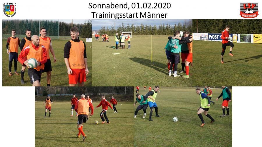 Vorschaubild der Meldung: Trainingsauftakt zur Rückrundenvorbereitung (Männer)