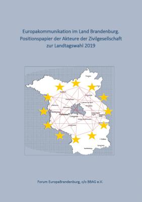 Positionspapier des Forum EuropaBrandenburg zur Europakommunikation im Land Brandenburg