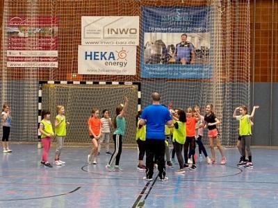 Vorschaubild zur Meldung: Alle hatten Spaß beim Handball