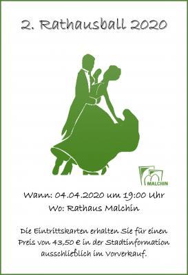 Vorschaubild zur Meldung: Zweiter Rathausball in Malchin
