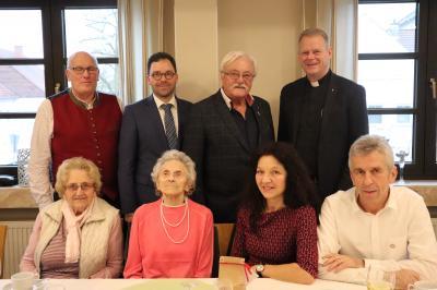 Vorschaubild zur Meldung: 100. Geburtstag Maria Vonderau, Schweben