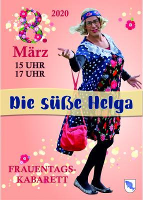 Vorschaubild zur Meldung: Die süße Helga zum Frauentag