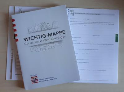 Vorschaubild zur Meldung: Notfallmappe heißt jetzt Wichtigmappe - erhältlich im Rathaus!