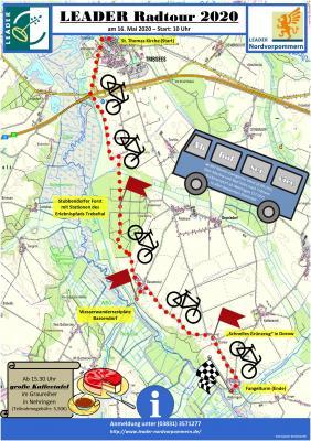 Vorschaubild zur Meldung: Anmeldung für die LEADER Fahrradtour (16. Mai) gestartet