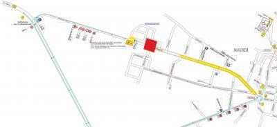 Vorschaubild zur Meldung: Hamburger Straße – Vollsperrung des Kreisverkehrs am Märkischen Ring