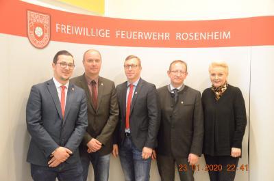 Foto zur Meldung: 160. Jahreshauptversammlung der Freiw. Feuerwehr Stadt Rosenheim Teil 1