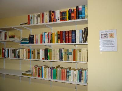 Foto zu Meldung: Neu - Bibliothek in Fischwasser