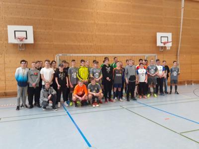 Foto zur Meldung: Turnier der B-Junioren der VfB Friedetal Sollstedt