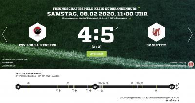 Foto zur Meldung: Fußball:+++Lok-Elf unterliegt in torreichem Testspiel+++
