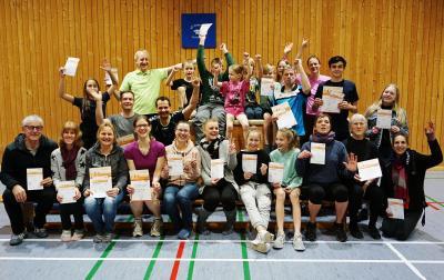 Sportabzeichen-Absolventen 2019 and Friends