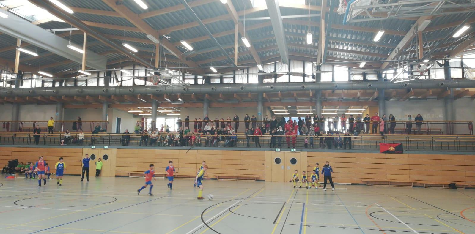 Vorschaubild der Meldung: D-Junioren verpassen haarscharf das Treppchen in Zittau