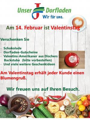 Vorschaubild zur Meldung: Am 14. Februar ist Valentinstag