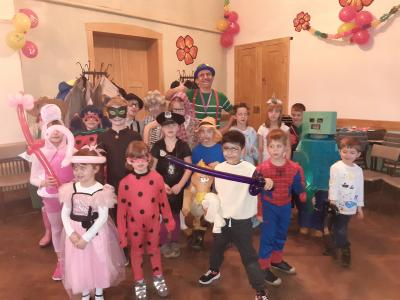 Kinderfasching in Willmersdorf