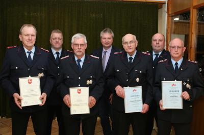 Vorschaubild zur Meldung: Erster Jahresrückblick der Neugegründeten Feuerwehr Prinzhöfte
