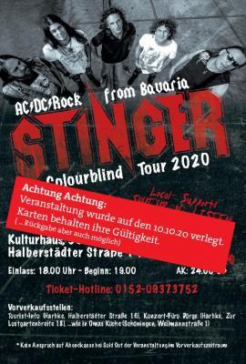 Vorschaubild zur Meldung: Stinger - AC-DC - Rock from Bavaria - Konzert in Harbke