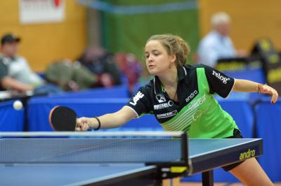 Tragisches Ende: Großburgwedels Nummer 3 Amelie Rocheteau verliert in der 3-Tischtennis-Bundesliga das entscheidende Spiel mit zwei Kantenbällen gegen sich