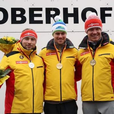 Foto zur Meldung: Deutsche Meisterschaft Rennrodeln