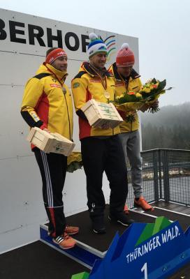 Foto zur Meldung: Weltcupsieg für Johannes Ludwig